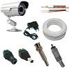 kit vigilancia cftv - camera ir 40 metros, 40 mt de cabo, fonte e conectores