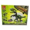 blocos de montar dinossauro velociraptor, robô ou aeronave jogo com 103 peças
