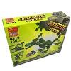 blocos de montar dinossauro pterosauro, robô ou aeronave jogo com 100 peças